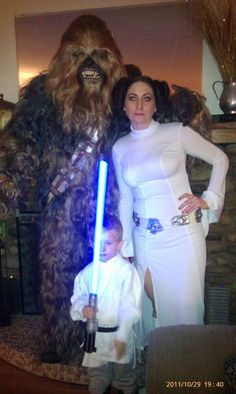 La Guerra de las Galaxias | 32 Disfraces Familiares Para Halloween Que Harán Que Quieras Tener Hijos