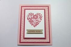 Country Stampers: Love You Card