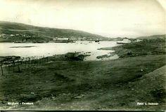 Finnmark fylke Båtsfjord kommune brukt 1950 Utg L. Sommer