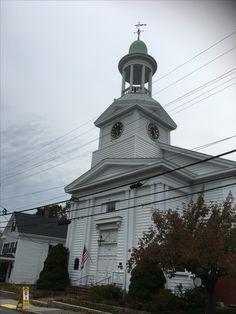 The First Congregational Church, Wellfleet, MA.