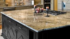 Kitchen Countertop Materials: From Granite to Laminate #kitchens #kitchencountertops #kitchenremodeling #kitchenremodels #kitchenrenovation #kitchenideas