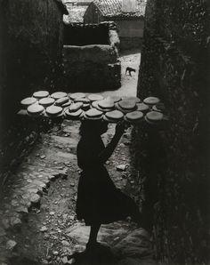 w. eugene smith, spanish village - bread, 1950    from'w. eugene smith photographs 1934-1975'