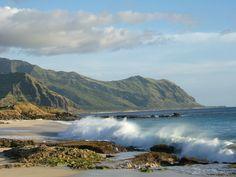 Vivienne Gan  @VivaYan  Gorgeous #wild waves along the coast of west Oahu. #FriFotos #surf