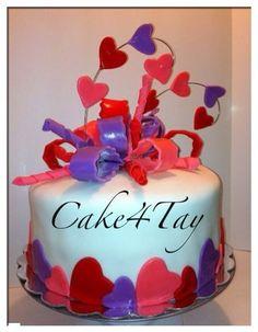Sweet Love - by Cake4Tay @ CakesDecor.com - cake decorating websiteValentine Cake