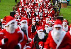 Mega desfile de pais natais invade o centro da cidade de Vila Nova de Famalicão a 21 dezembro 2012 | Vila Nova de Famalicão | Escapadelas ®