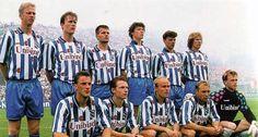 Het team van sc Heerenveen dat in 1993 de bekerfinale wist te halen, voor het eerst in de geschiedenis van de club.