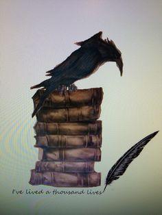 53 Ideas For Black Bird Tattoo Design Art Prints Tattoo Now, Book Tattoo, Arm Tattoo, Body Art Tattoos, Fox Tattoos, Tree Tattoos, Deer Tattoo, Raven Tattoo, Hand Tattoos