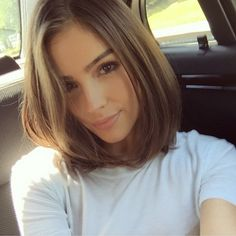 The chic bob Olivia's been donning truly reflects the sophistication and elegance of the young actress and former Miss USA.