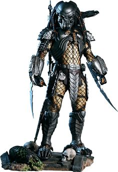 Predator and Alien vs. Predator Movie Prop Replicas, Character Figures, Toys, Guns and Accessories, Costumes and many more Collectibles Alien Vs Predator, Predator Cosplay, Predator Costume, Predator Movie, Predator Alien, Predator Helmet, King Kong, Statues, Sideshow Collectibles