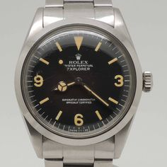Rolex Explorer I (Ref. 1016)