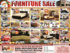 Pre-Christmas sale is on at ARV Furniture Warehouse, Mississauga, Toronto, Ontario, Canada. Check out the great deals on all kind of home furniture and accessories. Breaking news from by ARV Furniture/ in Furniture Toronto,Dining Table,sofa sets,bedroom furniture,living room furniture,Mississauga Furniture Store, Other.    ARV Furniture offers from classical to modern and contemporary furniture in Toronto and Mississauga, Ontario & Quebec.