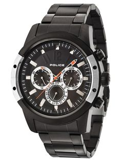 Shop the Police Mens Scrambler Black Chronograph Watch from our Mens watches range at Free UK Delivery and a 2 year guarantee. Gents Watches, Watches For Men, Police Jewelry, Police Watches, Harley Davidson Scrambler, Best Car Insurance, Black Bracelets, Timberland Mens, Black Stainless Steel