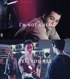 Stiles, Lydia et Scott