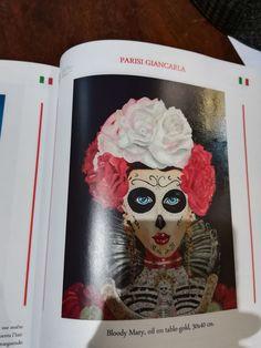 Opera esposta a palazzo san Teodoro #venezia #bloodymary rhapsody_art 🌸 madeinitaly