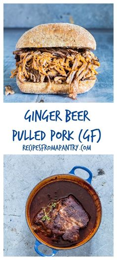 A simple ginger beer pulled pork recipe that will truly wow your guests. One African recipe you must try. recipesfromapantry.com #africanrecipe #gingerbeerpulledpork #pulledpork #gingerbeer