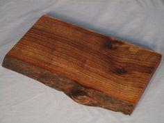 Pine Creek Wood Company- Natural Edge Claro Walnut Serving Board