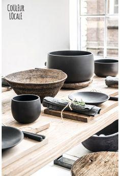 Black Ceramics by Nelson Sepulveda - Kitchen - Home Decoration
