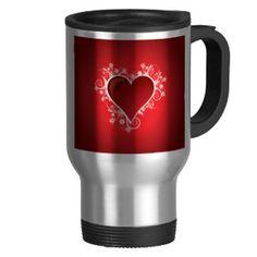 Heart Mugs #hearts #travelmugs #mugs