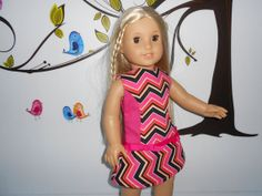 Doll clothes 18 dolls American Girl pink by DeColoresDollFashion, $25.90