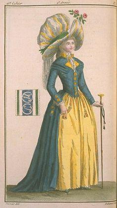 Magasin des Modes, April 1787