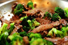 Ree Drummond's Chinese Beef with Broccoli