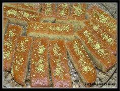 Turkish Dessert (Şam Tatlısı) ...  something between cake and kalakand