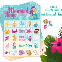 Mermaid Bingo