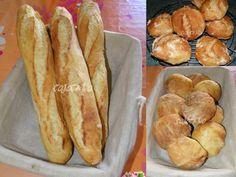 A force de voir ces pains se reproduire sur la blogosphère il fallait bien qu'un jour ils entrent dans ma cuisine. C'est en vayant les superbes baguettes de Dodie, faites avec cette méthode que j'ai décidé de ne plus attendre. Vous pouvez aussi bien faire...