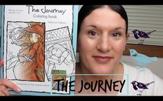 Adult Coloring Book | THE JOURNEY COLORING BOOK