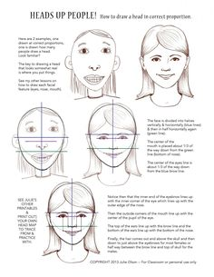 What the heck does an illustrator do?: How to draw a face/head