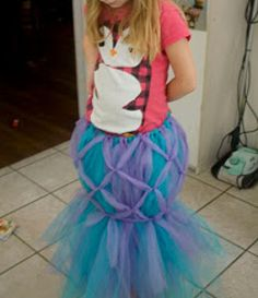 Be prettier than Ariel when you make your own Mystical Mermaid Tail Tutu. This inexpensive and quick costume idea will save you time and money.