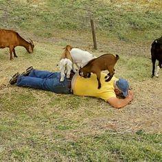 Redneck back massage