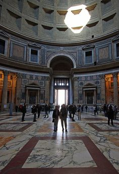 Pantheon, Rome a must see attraction when on a visit to Rome.