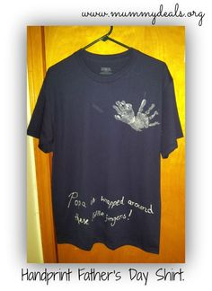 Handprint T-Shirt Ha