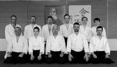SAS members on the Kuribayashi shihan's seminar. https://www.sas-aikido.hu