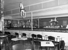 Pink Pony.  Rehoboth Beach.  Interior.  9015-003-001 #3867.  Delaware Public Archives.  www.archives.delaware.gov Rehoboth Delaware, Delaware Bay, Rehoboth Beach, Delmarva Peninsula, Sussex County, Chesapeake Bay, Atlantic Ocean, Old Pictures, Maryland