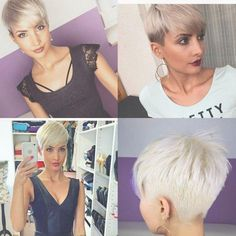 strijka_piksi_ (26) | Pixie | Pinterest | Short hair, Pixies and ... | Frauen Haare |
