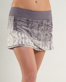 Loving this lululemon running skirt!  so cute place for iphone, no ride up! yaya!