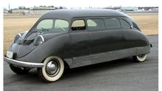 The brainchild of William B Stout, the Scarab is widely recognised for having invented the minivan typology. Conceived in 1932, the vehicle's body was modelled on an aircraft's fuselage, with the engine at the rear. Its modular interior, meanwhile, featured a flat floor, unusual for its day.