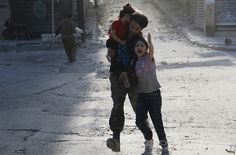 Syrian rebels bombed a hotel used as a base for government forces, the latest massive attack in the seesaw battle for the country's largest city. Syrian Children, Massive Attack, Seesaw, Couple Photos, Photography, Houses, War, Safe Place, Syria