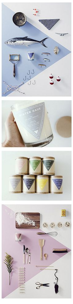 Haus Candles packaging  http://stitchdesignco.com/