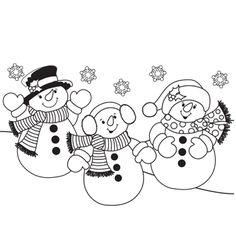 Christmas Coloring Pages Free Printable For Kids