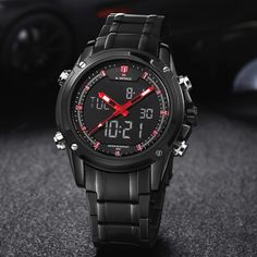Top Men Watches Luxury Brand Men's Quartz Hour Analog Digital LED Sports Watch Men Army Military Wrist Watch Relogio Masculino Like and Share if you want this  #shop #beauty #Woman's fashion #Products #Watch
