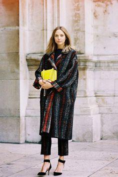Vanessa Jackman: Paris Fashion Week AW 2014....Candela