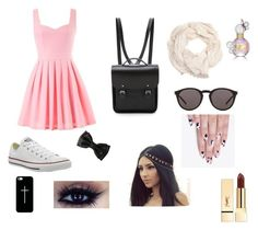 """""""First day of School"""" by mikannemal ❤ liked on Polyvore"""