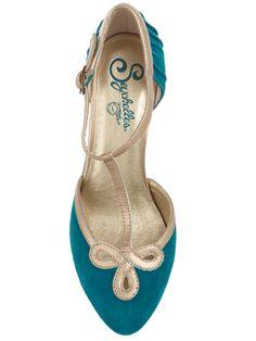 Blue suede shoes :)
