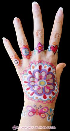 Body Art Doodle Tattoo