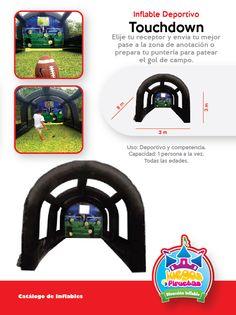 Inflable y Juego Deportivo Touchdown Niños y Adultos Costa Rica   http://www.juegosypiruetas.com/#!inflables-deportivos/c1lr4