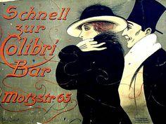 Werbeplakat Berlin, um 1900