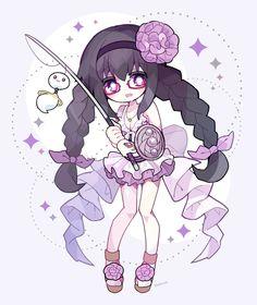 """ののくす on Twitter: """"暁美ほむら 水着ver.… """" Madoka Magica Sayaka, Sayaka Miki, Anime Figures, Anime Characters, Symbolic Art, Kawaii Chibi, Beautiful Drawings, Magical Girl, Cute Wallpapers"""